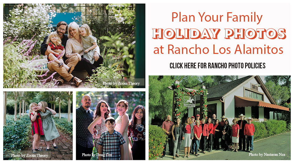 Holiday Photos at Rancho Los Alamitos Cllick here for policies
