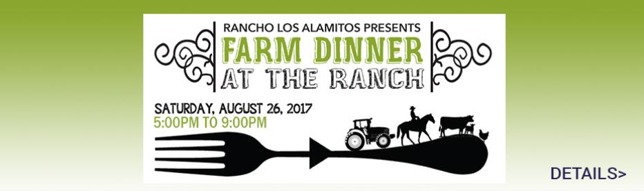 Farm Dinner at the Rancho